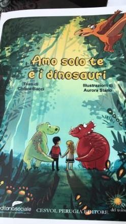 amo solo te e i dinosauri